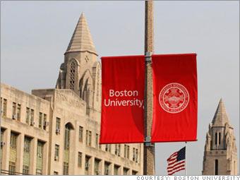 Boston University emblem