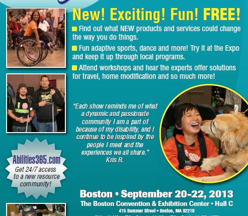 Abilities Expo 2013 flyer