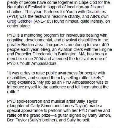 Greg Getchell Naukabout Music Festival