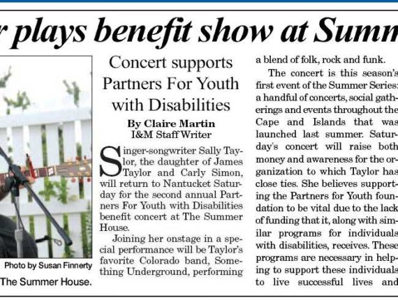Nantucket Inquirer & Mirror article