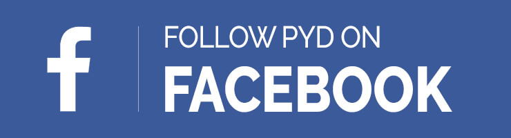 Follow PYD on Facebook