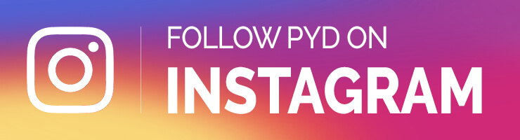 Follow PYD on Instagram