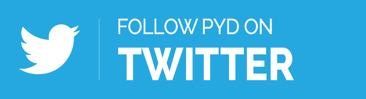 Follow PYD on Twitter