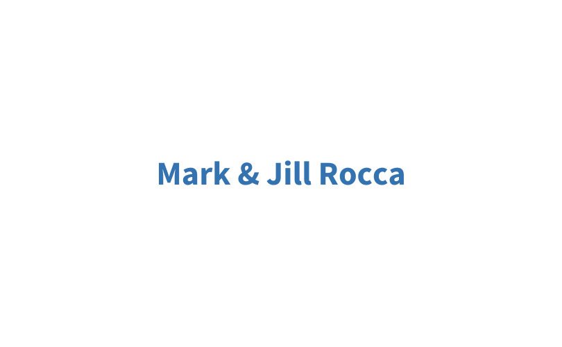 Mark and Jill Rocca