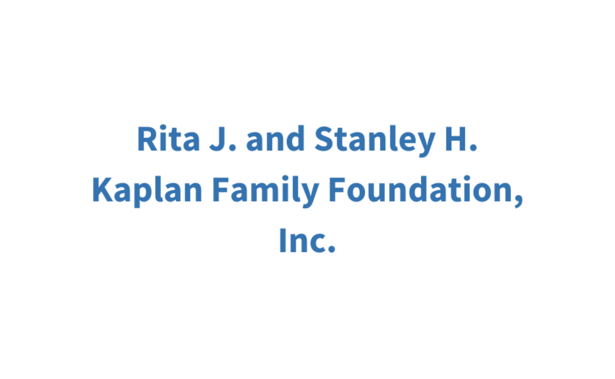 Kaplan Family Foundation, Inc