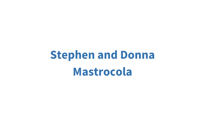 Stephen and Donna Mastrocola